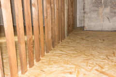 Attic renovation Royalty Free Stock Images