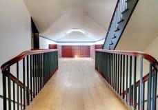 Attic Staircase Stock Photo