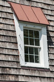 Attic window of house roof Royalty Free Stock Image
