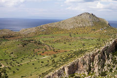 Attica Greek Landscape Stock Images