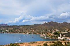 Attica landscape, Greece Royalty Free Stock Photos