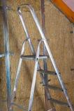 Attick loft insulation Royalty Free Stock Image