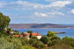 Attika-Landschaft, Griechenland Lizenzfreies Stockbild