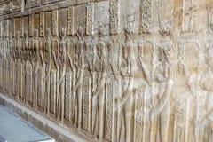 Attingere parete del tempio Fotografia Stock