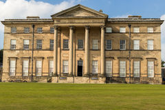 Attingham Hall Country House Shropshire England. Facade of Attingham Hall, an 18th century country house stately home owned by the National Trust. Atcham Royalty Free Stock Images