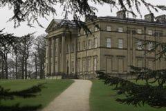 Attingham park house Atcham Shropshire through the trees Royalty Free Stock Photography