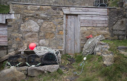 Attirail d'industrie de la pêche Photos stock