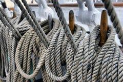 Attirail de bateau Photographie stock