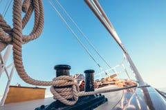 Attirail de yacht photographie stock