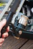 Attirails de pêche Photos stock