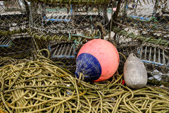 Attirails de pêche Photo libre de droits