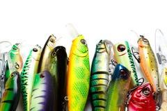 Attirails de pêche Photo stock