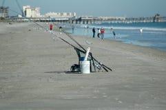 Attirails de pêche Photos libres de droits