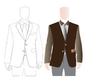 Attire For Men Stock Photo