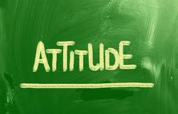 Attitude Concept Royalty Free Stock Image