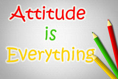 Attitude Is Everything Concept Royalty Free Stock Photography