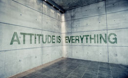 Attitude is Everything Stock Images