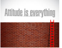 Attitude is everything sign concept Stock Photography
