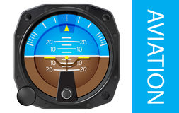 Attitude indicator vector Stock Images