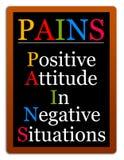 Attitude positive illustration libre de droits