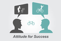 Attitude for Success Royalty Free Stock Image