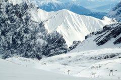 Attivamente sperimenti la montagna immagini stock libere da diritti