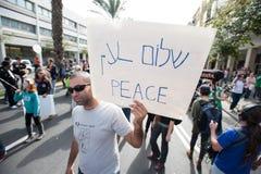 Attivista di pace fotografia stock