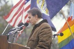 Attivista politico Carl Sagan Fotografia Stock