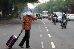 Attivisti anticorruzione fotografia stock libera da diritti