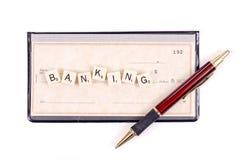 Attività bancarie fotografie stock