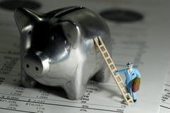 Attività bancarie immagini stock
