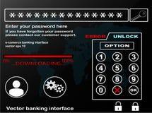 Attività bancarie di Internet Immagine Stock Libera da Diritti