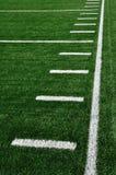Attività collaterale sul campo di football americano Immagini Stock Libere da Diritti