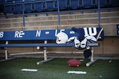 Attività collaterali dello stadio di football americano Fotografia Stock Libera da Diritti
