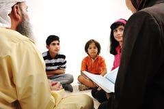 Attività connessa con l'istruzione in Ramadan, Immagini Stock