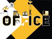Attività creativa dell'ufficio e della gente di concetto di parola royalty illustrazione gratis