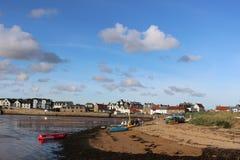 Attività degli sport acquatici nell'area del porto, Elie, Fife Fotografia Stock