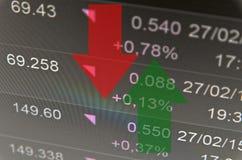 Attività del mercato azionario fotografia stock