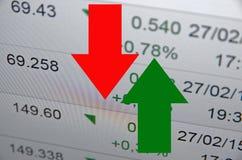 Attività del mercato azionario immagine stock