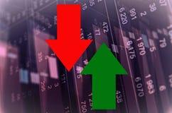 Attività del mercato azionario Immagini Stock Libere da Diritti