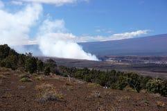 Attività del vulcano, Hawai, U.S.A. Immagini Stock