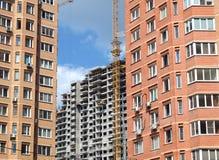 Attività della costruzione della città Fotografie Stock Libere da Diritti