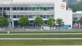 Attività di aeroporto nell'aeroporto di Monaco di Baviera, MUC Germania