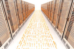 Attività di dati Immagini Stock