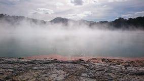 Attività geotermica Fotografia Stock