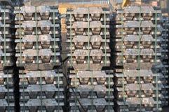 Attività marittima al porto di Genova, Italia Fotografia Stock