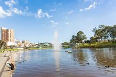 Attività in più vecchio parco, Adelaide, Australia Meridionale Immagini Stock