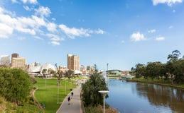 Attività in più vecchio parco, Adelaide, Australia Meridionale Fotografia Stock