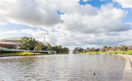 Attività in più vecchio parco, Adelaide, Australia Meridionale Fotografia Stock Libera da Diritti