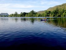 Attività sul lago Fotografie Stock